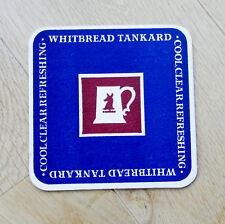Very old Beermat / Coaster from 1960's  Whitbread Tankard (11 x 11cm)