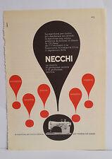 D12> Pubblicità CLIPPING ANNO 1959 - NECCHI LA MACCHINA PER CUCIRE ITALIANA