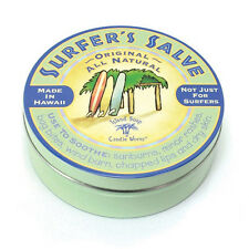 """NEW-LARGE 4 OZ.SIZE """"SURFER'S SALVE""""TIN *NOT ONLY FOR SURFER'S-MANY USES"""""""