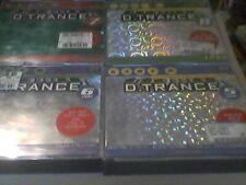 Gary D  D Trance  Vol.5,6,7,8      guter Zustand       Sammlung