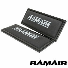2 x High Performance Replacement Panel Air Filter By Ramair fits Mercedes 55 AMG