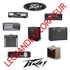 Ultimate PEAVEY Owner, Repair Service Manuals & Schematics  PDFs Manual s on DVD