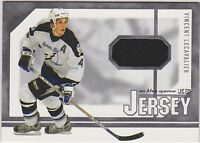 03-04 ITG Used Signature Jersey Vincent Lecavalier 1/80