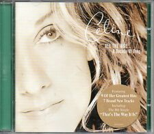 "NEUF CD ALBUM CELINE DION "" ALL THE WAY "" 16 TITRES THAT'S THE WAY IT IS ..."