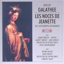 Masse: Galathee/les Noces de Jeanette - Jouvin,Vallin Ninon,Gresse,Moret Jane
