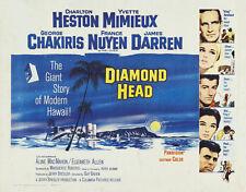 Diamond Head Charlton Heston movie poster print