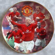 Danbury Mint Manchester United Football Club Collectors Plate Premiership Kings