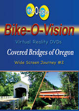 Bike-O-Vision Cycling Video, Covered Bridges of Oregon Widescreen DVD