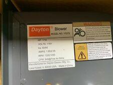 Dayton Model 1tdt2 Blower 549 Cfm 13201430 Rpm 115v 5060hz