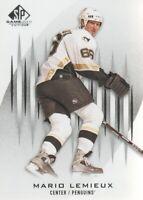2013-14 SP Game Used Hockey #28 Mario Lemieux Pittsburgh Penguins