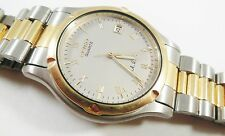 Seiko Two-Tone Base Metal/Stainless Steel 7M22-8A5L Sample Watch NON-WORKING