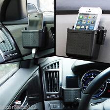 Car Charger Cradle Phone Holder Pocket Storage Sundries Bag Organizer For Benz