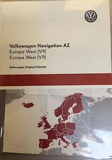 VW RNS 315 Navigation V9 AZ Europa West SD-Karte neuste Version 2017 Skoda Seat