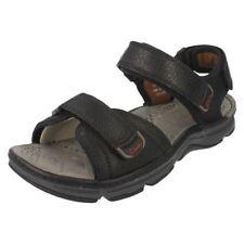 Sandali e scarpe nere con a strappo per il mare da uomo da Italia