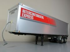 Tamiya RC 1/14 Semi Box Trailer Intercontinental Express Container + light Kit