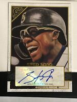 2020 Topps Gallery Rare Signatures # 69 SHED LONG AUTO - PACK FRESH MINT! 🔥