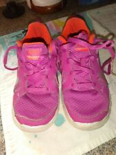 Pink Little Girls Nike Shoes Size 1.5 Used Nike Free 5.0