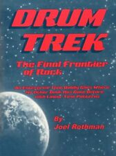 Joel ROTHMAN DRUM Trek la frontiera FINALE DEL ROCK Impara a Suonare la Batteria Musica libro