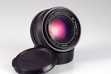 YASHINON ML 50 50mm F1.7 C/AND MOUNT CLA TESTED NEAR MINT CONTAX YASHICA