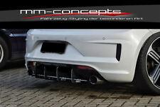 Cup Diffusor Ansatz für VW Scirocco 3 III R AB Bj. 14 Heck Race Track INE