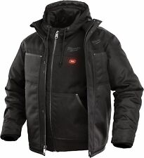 Milwaukee 251B-21M  M12™ 3-IN-1 Black Heated Jacket Kit, MEDIUM