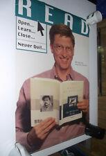 American Library Association Read Poster Rare BILL GATES HTF Original
