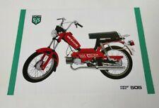 Prospectus Catalogue Brochure Moto SIS SACHS Minor 505 1984 Portugal