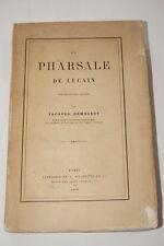 Pharsale de Lucain,Delogeot-Hachette,1866