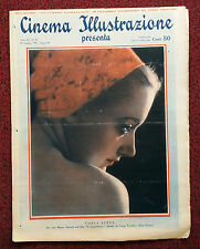 Cinema Illustrazione 1936 XI n° 44 Carla Sveva      23/12