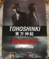 TVXQ TOHOSHINKI Superstar Taiwan Promo Poster