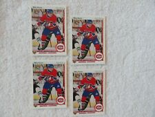 Mike Keane 1990/91 Upper Deck 4 Rookie Cards Montreal Canadiens PACK FRESH MINT