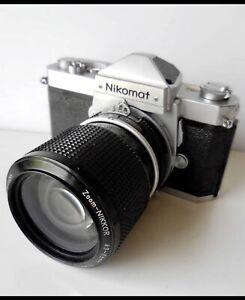 Nikon FTN 35mm SLR Film Camera with Ai lens Kit!! from japan