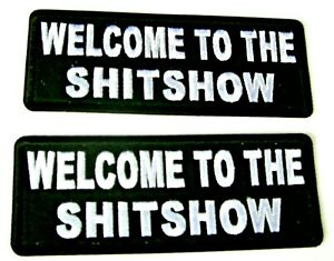 PATCH welcome to the sh*t show GIFT prepper survive morale UGET2 #648 sewing