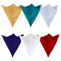 50Pcs Square Satin Table Napkins Cloth Wedding Party Banquet Dinner Favor 12""