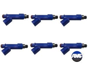 Set of 6 Fuel Injector for Corolla Matrix Pontiac 1.8L 2006-2008 - 23250-22080