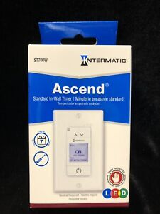 Intermatic ST700W Programmable Timer Electronic In-Wall Timers