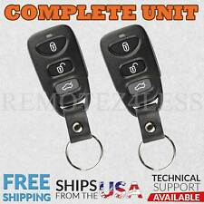 2 For 2006 2007 2008 2009 2010 Hyundai Sonata Keyless Entry Remote Car Key Fob