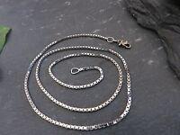 Schöne 925 Silber Kette Venezianerkette Unisex Damen Herren Elegant Eckig Modern