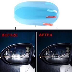 2x Car Rainproof Anti Fog Anti-glare Rearview Mirror Trim Film Cover Accessories