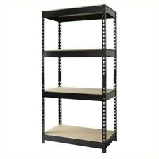 Hirsh Rivet Shelving 30x60 Heavy Duty 4 Shelf Storage Unit