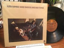 RUDY RAMOS LP HARD KNOCKS AND BAD TIMES 1972 FANTASY 8423 PROMO MINT IN SHRINK