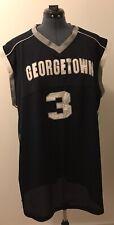 Allen Iverson Geogetown Hoyas #3 Adidas True School Authentics 3XL Throwback