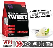 5kg Whey Protein Isolate Powder WPI 100 Pure - Vanilla