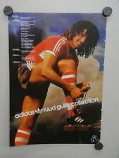 Advertising NL maandblad 1986 / ca.A4 / Ruud Gullit Adidas collectie (psv-02857)