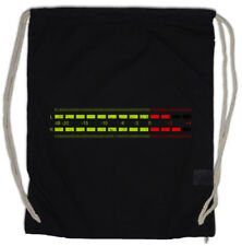 DB Meter I Drawstring Bag Decibel Music Retro Radio Record Vinyl Stereo Music