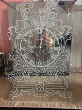 Gorgeous Modern Clock Mirror And Glass Standing Clock