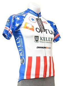 Borah Optum Pro Team USA National Champ Short Sleeve Jersey Men SMALL Road Bike
