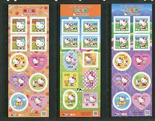 Japan 2015 Hello Kitty Stamps Complete Set 26 Sheets of 10- All Regions COMPLETE