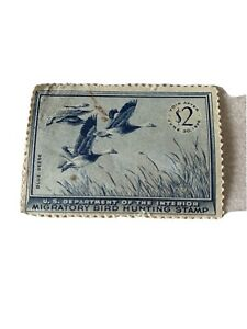 1955 Federal Duck Stamp Unsigned