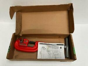 "RIDGID 2A/202 HEAVY DUTY PIPE CUTTER 1/8"" TO 2"" SIZE NEW"